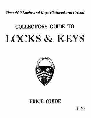 Collectors Guide to Locks and Keys -  Great Key and Lock Manual !!!
