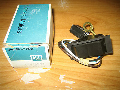 NOS GM 1974-1975 Oldsmobile Cutlass 442 Heated Back Glass Rear Defogger Switch