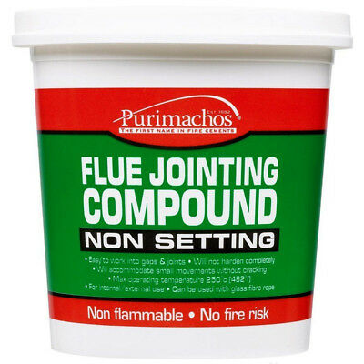 Everbuild 500g Flue Jointing Non Setting Compound - Purimachos Asbestos Free