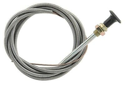 "Mr Gasket 2078 Universal 72"" Inch / 6' Foot Long Choke Cable 3/8"" Mounting Hole"