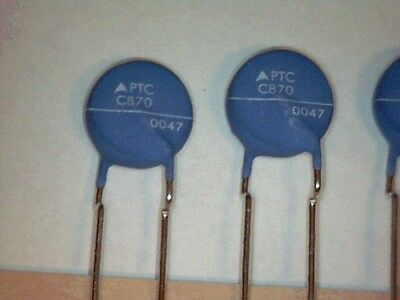 PTC Thermistor Overcurrent Protection EPCOS C870-A120 230V 25R 120°C