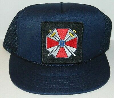 Resident Evil Umbrella Corporation Plain Logo Patch Baseball Hat Cap, NEW UNWORN