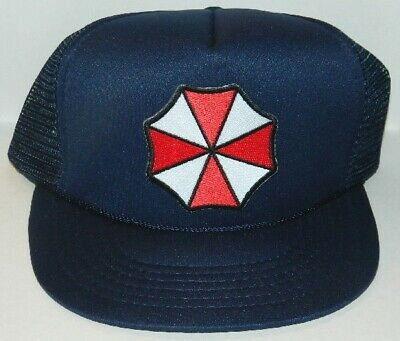 Resident Evil Umbrella Corporation Umbrella Patch Baseball Hat Cap, NEW UNWORN