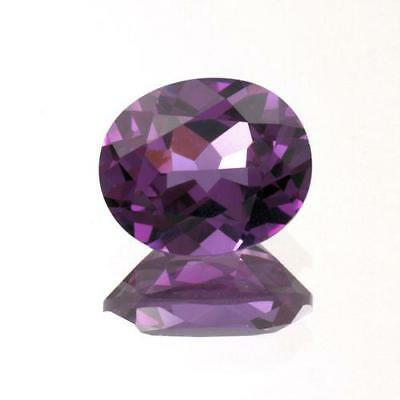 5x3mm - 20x15mm Alexandrite Lab Created Sapphire Oval Shape