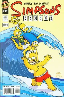 Bongo comics Simpsons 86 NM FREE UK POST