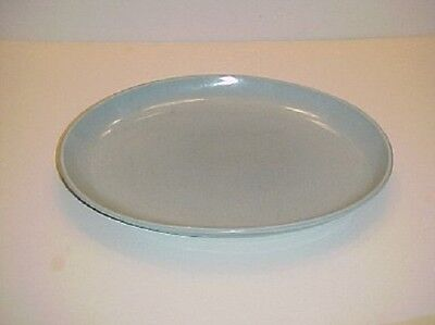 Iroquois China Casual Blue Oval Serving platter