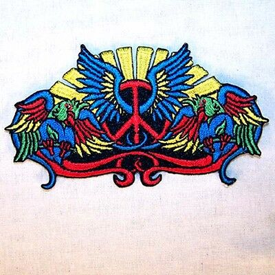 WORLD TATTOO PEACE DOVE EMBRODIERED PATCH P611  jacket  new bikers item novelty