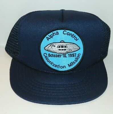 Lost In Space TV Series Colonization Mission Logo Patch Baseball Hat, NEW UNUSED