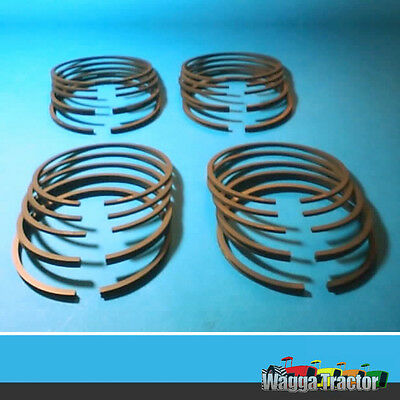 RGS3525 4x Piston Ring Sets Fordson Major Tractor & Ford Power-Major Super-Major