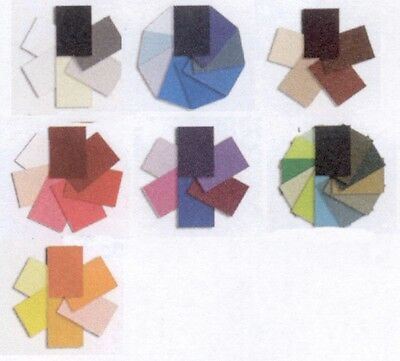 Shades of Color SHEET Assortments 7 Color Assort. 2 Pick From Quilling-Punch Art