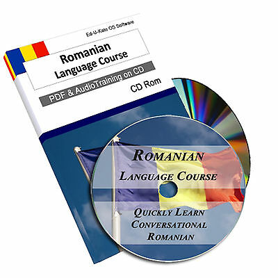 197 Romanian Language Course - Learn Speak Home Learning Study Audio CD MP3 PDF