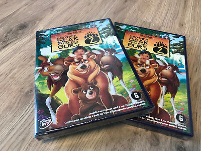 BROTHER BEAR 2 / frère des ours 2 : dvd  WALT DISNEY - SEALED sous cello