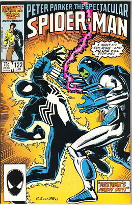 The Spectacular Spider-Man Comic Book #122 Marvel 1987 NEAR MINT NEW UNREAD
