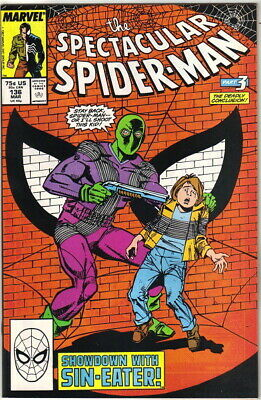 The Spectacular Spider-Man Comic Book #136, Marvel 1988 NEAR MINT