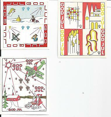 BOY SCOUT CINDERELLAS SEALS AND LABELS from SWEDEN Lot d
