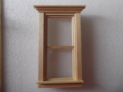Traditional Dollhouse Non Working Window by Houseworks