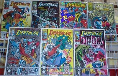 Deathlok 1-5, 21 & 25 1991 Marvel Comic Set