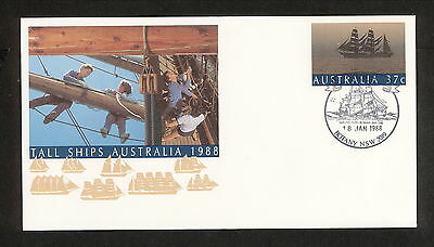 1988 APM19460.2-02 PO BOTANY, SIRIUS, ON TALL SHIPS PSE Pictorial Postmark(2928)
