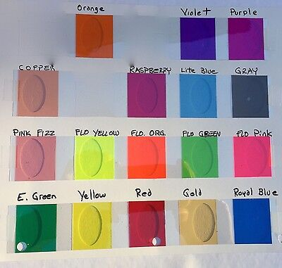 Transparent Vinyl Plastic Sheeting, with Adhesive, pick your color and size