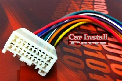 oem factory stock radio wire harness plug for nissan 1995 2011 mitsubishi oem stock radio wire harness plug 2007 2011