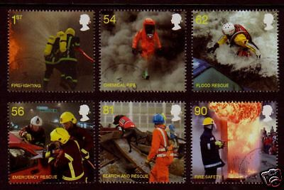 Great Britain 2009 Fire And Rescue Services Fine Used