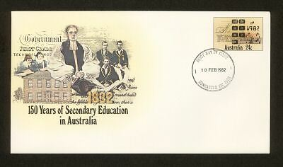 PSE FDC PF047 1982 24c Education circular date stamp