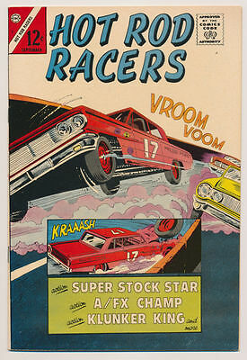 HOT ROD RACERS #5 VF, Super Stock Star, Race Cars, Racing, Charlton Comics 1965