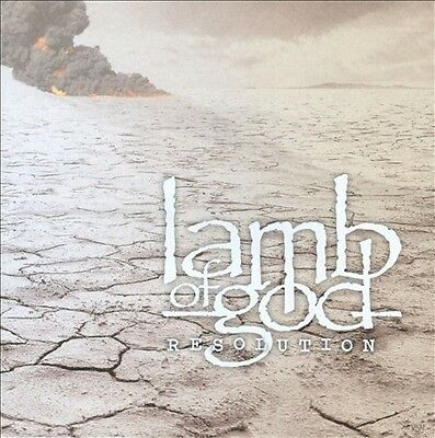 Resolution Lamb of God CD Sealed ! New ! 2012