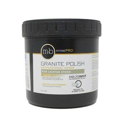 MB-20 8.5 Oz. Stone Granite Polishing Cream