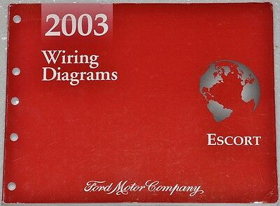 2003 ford escort zx2 coupe electrical wiring diagrams troubleshooting manual