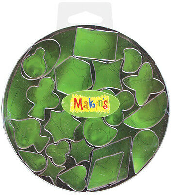 Makin's Clay Cutters Circle Tin Various Designs NEW