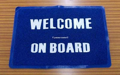 Tapis de sol welcome on board PG