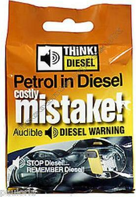 Think! Diesel - Audible Fuel Warning Device - Petrol in Diesel a Costly MISTAKE!