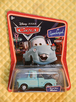 DISNEY CARS MATTEL 1ST RELEASE SUPERCHARGED BRAND NEW MATER K4589 FROM CASE