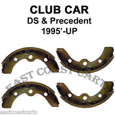 Club Car 1995'-up DS and Precedent Rear Brake Shoes (set of 4) 1018232