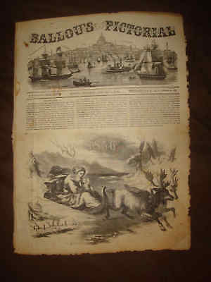 Antique Victorian Era Newspaper Art Print Ethnic Allegorical United States Asia
