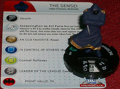 THE SENSEI #026 #26 Brave and the Bold DC HeroClix