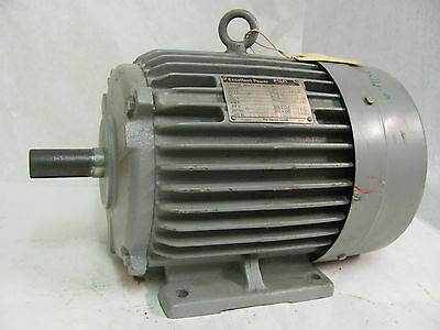 Fuji Electric Excellent Power MLA6115A 3-Phase Induction Motor, 3.7Kw, 3495 RPM