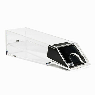 4 Decks - Dealers Casino Professional Playing Cards Clear Card Shoe - Holder