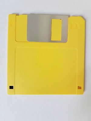 "100 x Verbatim Floppy Disk MF2-HD 3.5"" 1.44Mb IBM Format 2 x 50pk Yellow shell"