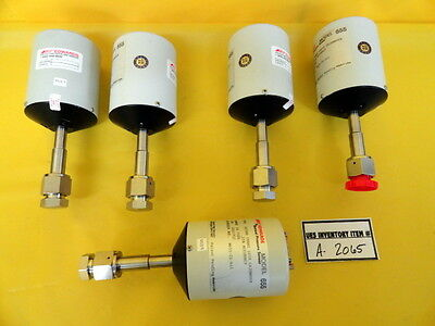 Edwards 655AB Barocel Pressure Vacuum Sensor Reseller Lot of 5 Used Working