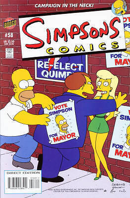 Bongo comics Simpsons #58 NM FREE UK POST