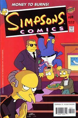 Bongo comics Simpsons #69 NM FREE UK POST