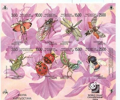 Insetti - Insects  Kyrgyzstan 2004 B