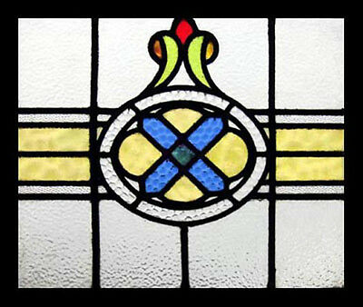 Beautiful Antique English Victorian Stained Glass Window
