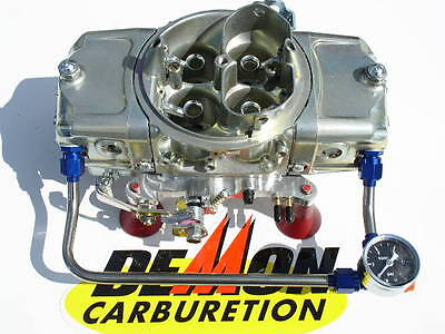 NEW SPEED DEMON 850 CFM MECHANICAL GAS WITH  #6 HARD LINE & GAUGE 1563010