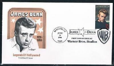 1996 James Dean First Day Cover FDC Sc 3082 Artmaster Cachet