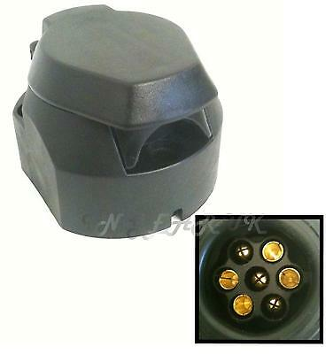 Car tow bar socket plastic style 7 pin 12N for towing electrics 12 N FREE POST