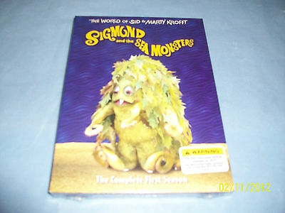 SIGMUND & THE SEA MONSTERS BRAND NEW & FACTORY SEALED!!!!!!!!!!!!!!!!!!!!!!!!!!!