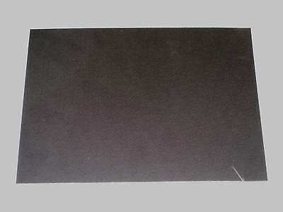 1.5 mm Black ABS Pinseal/Textured Sheet New (vacuum forming) 297x420mm